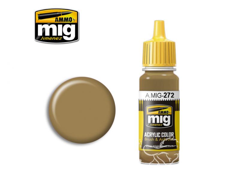 MIG peinture authentique 272 Giallo Mimetico 4 17ml