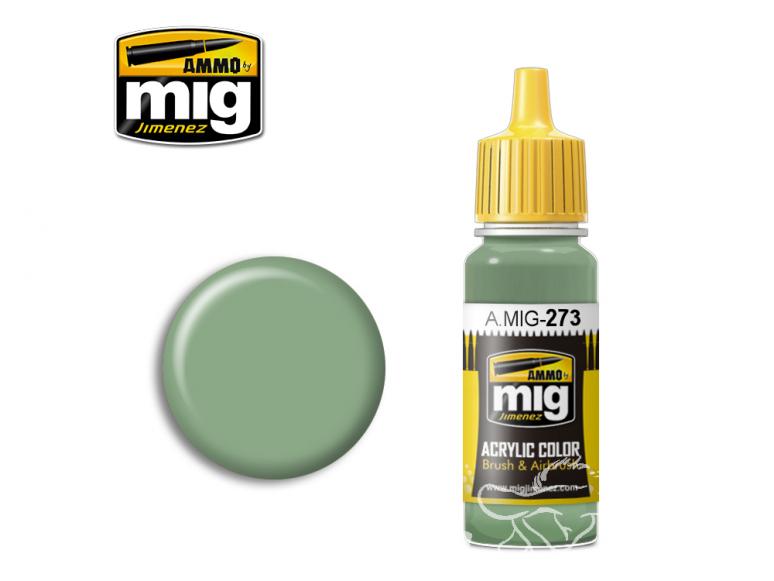 MIG peinture authentique 273 Verde Anticorrosione 17ml