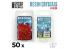 Green Stuff 508864 Cristaux de Résine ROUGES - Moyen