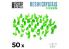 Green Stuff 508888 Cristaux de Résine VERTS - Moyen
