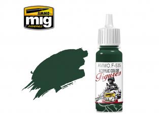 MIG peinture figurine F-535 Vert camouflage Italien 17ml