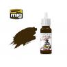 MIG peinture figurine F-553 Rouge brun brûlé 17ml