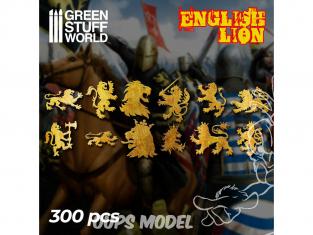 Green Stuff 508253 Symboles Lion Anglais