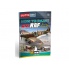 MIG Librairie 6522 Solution Book - Comment peindre WWII RAF Early Aicraft en Français (Multilangues)