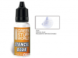 Green Stuff 508949 Colle de Pochoir Repositionnable