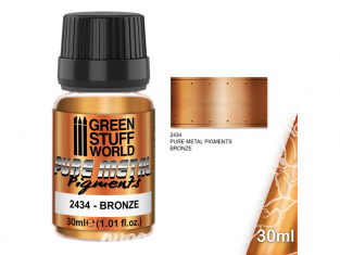 Green Stuff 2434 Pure Metal Pigments BRONZE 30ml