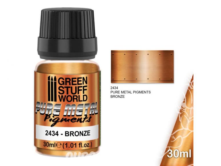 Green Stuff 2434 Pure Metal Pigments BRONZE 30ml