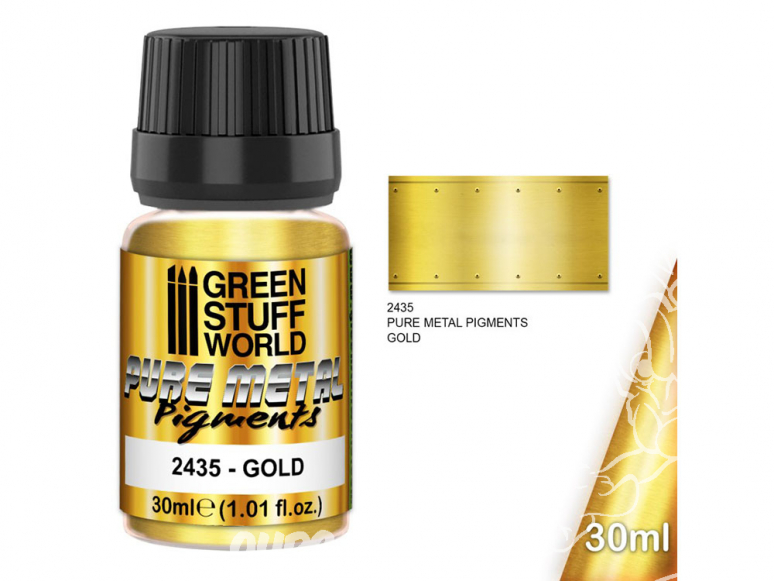 Green Stuff 2435 Pure Metal Pigments OR 30ml