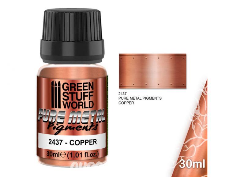 Green Stuff 2437 Pure Metal Pigments CUIVRE 30ml