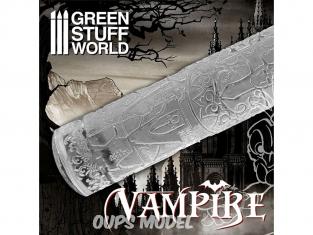 Green Stuff 508208 Rouleaux texturés Vampires