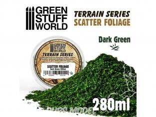 Green Stuff 10514 Flocage Bois Vert Foncé 280ml