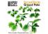 Green Stuff 508635 Plantes en Papier Palmier au Sol 1/48 - 1/35 - 1/32