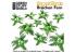 Green Stuff 508666 Plantes en Papier Monstera 1/48 - 1/35 - 1/32