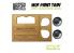 Green Stuff 509083 Bac à Peinture support en bois MDF