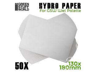 Green Stuff 506846 Hydropapier x50