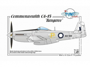 Planet Model PLT232 CAC CA-15 Kangaroo full resine kit 1/48