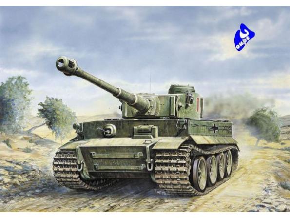 italeri maquette militaire 0286 Tiger I Ausf. E/H 1 1/35