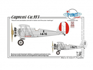 Planet Model PLT240 Caproni Ca.113 full resine kit 1/48
