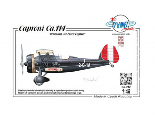 Planet Model PLT242 Caproni Ca.114 AF chasseur péruvien full resine kit 1/48