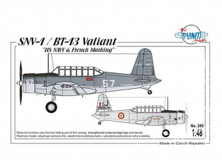 Planet Model PLT245 SNV-1/ BT-13 Valiant full resine kit 1/48