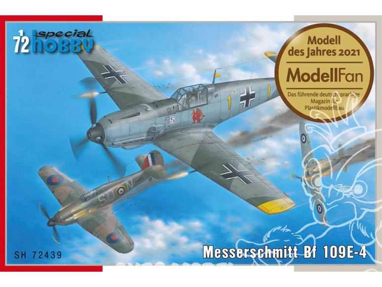 Special Hobby maquette avion 72439 Messerschmitt Bf 109E-4 1/72