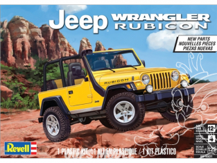 Revell US maquette voiture 4501 Jeep Wrangler Rubicon 1/25