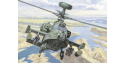 italeri maquette helicoptere 0080 AH-64D Apache Longbow 1/72
