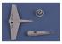 Hobby boss maquette avion 87267 Avion de chasse américain F8F-1 Bearcat facile a assembler 1/72