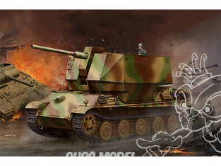 TRUMPETER maquette militaire 09531 Flakpanther w/8.8cm Flak 36/37 1/35