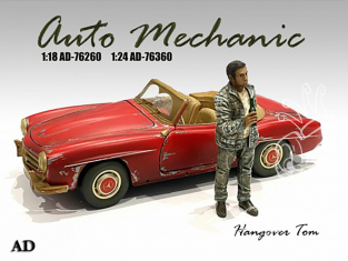 American Diorama figurine AD-76360 Mécano auto Tom 1/24