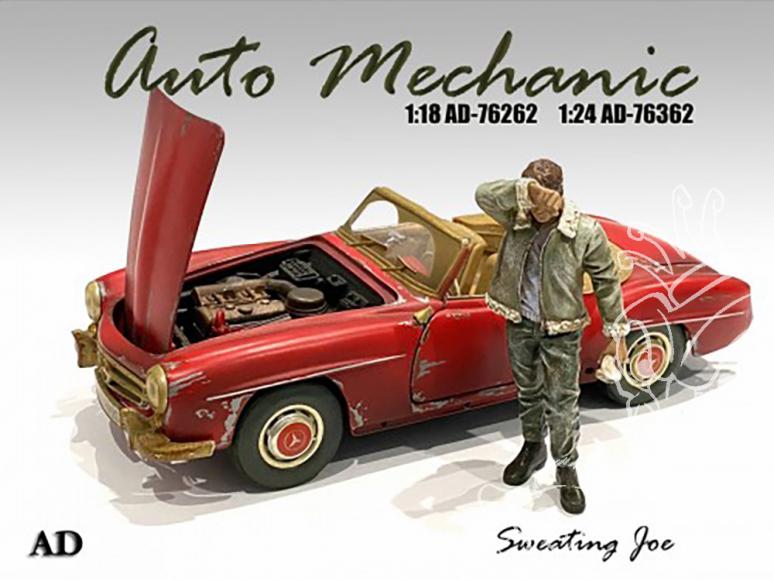 American Diorama figurine AD-76362 Mécano auto Joe 1/24