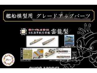 Fujimi kit d'amélioration bateau 433158 IJN Classe Unryu 1/700