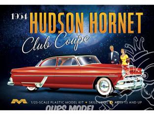 Moebius maquette voiture 1213 Hudson Hornet Club Coupe 1954 1/25