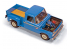 Moebius maquette voiture 1232 Ford F-100 Flareside 1966 Pick Up 1/25