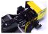 NuNu maquette voiture F1 PN20001 McLaren MP4/2C 1986 Portuguese GP 2en1 Decals 1/20
