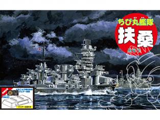 Fujimi maquette plastique bateau 423005 Cuirassé japonais Fuso tiré de la bande dessiné Chibimaru