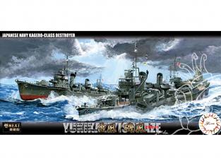 Fujimi maquette bateau 460529 Yukikaze / Isokaze Destroyer de la Marine Japonaise 1/700