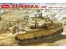 """Amusing maquette militaire 35A048 IDF SHOT KAL """"Alef"""" Vallée des larmes 1973 1/35"""
