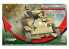 Mirage maquette militaire 726088 U.S Light Tank M5A1 Late 4th Armored Division, Normandie juin 1944 1/72