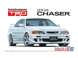 Aoshima maquette voiture 059852 Toyota JZX100 Chaser TRD 1/24