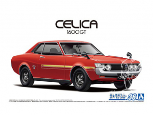 Aoshima maquette voiture 059135 Toyota Celica 1600GT TA22 1972 1/24