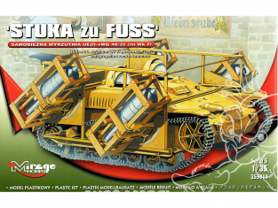Mirage maquette militaire 355019 Lanceur UE-sWG 40 / 32cm Wk Fl 'Stuka zu Fuss' 1/35