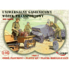 Mirage maquette militaire 35216 Chariot de transport à chenilles universel 1/35