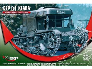 Mirage maquette militaire 359002 tracteur d'artillerie C7P (p) 'Klara', version allemande 1/35