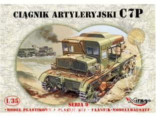 Mirage maquette militaire 35901 tracteur d'artillerie C7P (p) 1/35