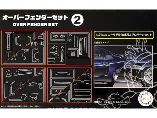 fujimi maquette accessoire voiture 116396 Set d'extention d'ailes 2 1/24