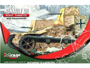 Mirage maquette militaire 355007 Tankette Scout Renault UE 1/35