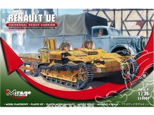 Mirage maquette militaire 354025 Transporteur universel RENAULT UE 1/35