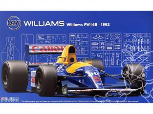 Fujimi maquette voiture 091976 Williams FW14B 1992 1/20