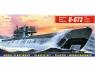 Mirage maquette Sous-marins 40412 U-673 type U-VIIC Turm II sous-marin allemand 1/400